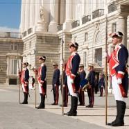 Cambio de Guardia Real