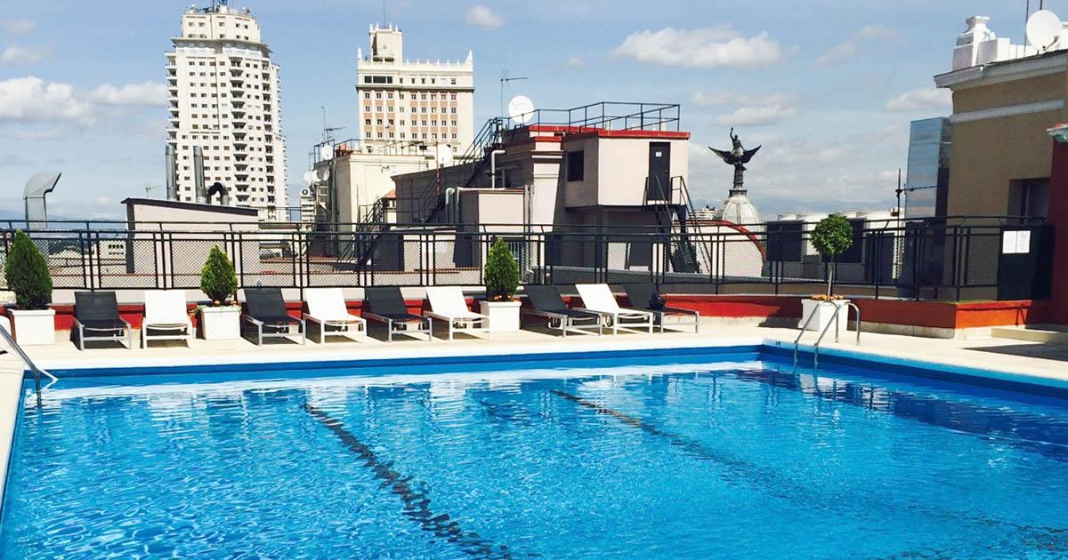 roof garden apertura de la terraza y piscina del hotel